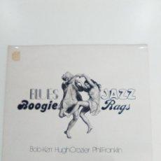 Discos de vinilo: BOB KERR HUGH CROZIER PHIL FRANKLIN BLUES JAZZ BOOGIE RAGS ( 1976 WHOOPEE UK ) MUY BUEN ESTADO. Lote 157812598