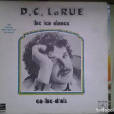 Discos de vinilo: D.C. LA RUE-THE TEA DANCE/CA-THE-DRALS DOBLE LP. Lote 157812794