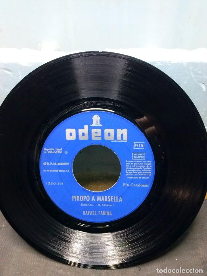 RAFAEL FARINAPIROPO A MARSELLA (Música - Discos de Vinilo - EPs - Grupos Españoles de los 70 y 80)