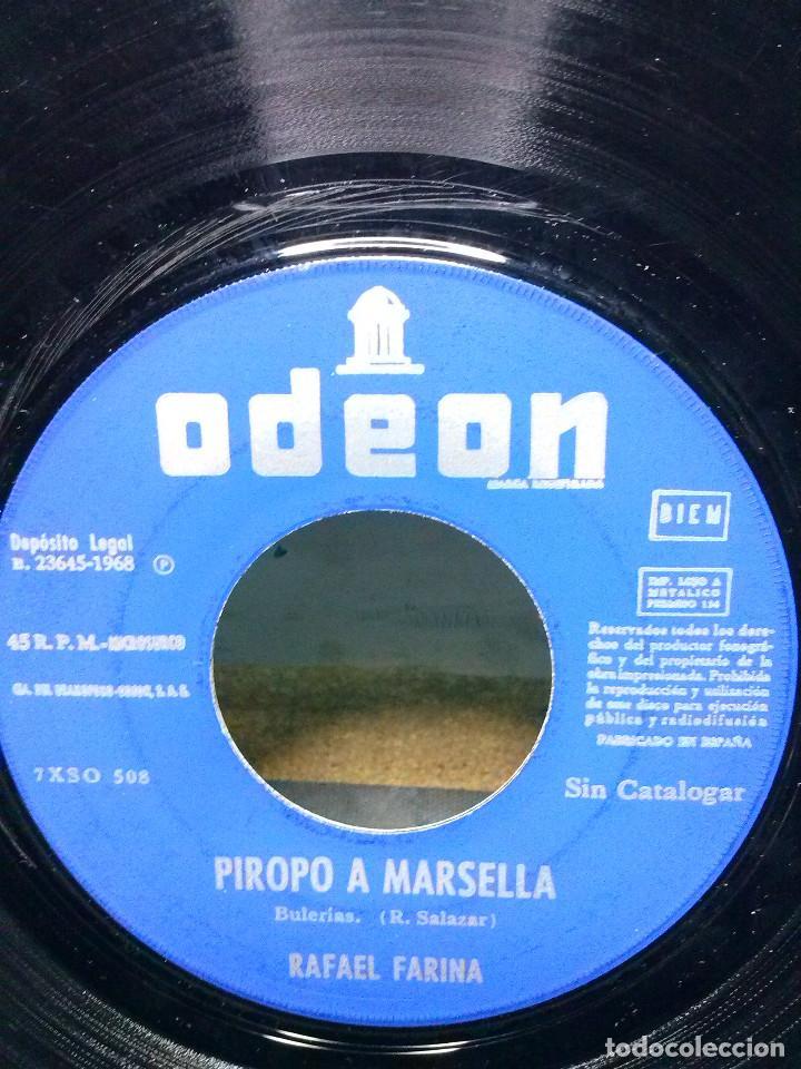 Discos de vinilo: RAFAEL FARINAPIROPO A MARSELLA - Foto 2 - 157812886