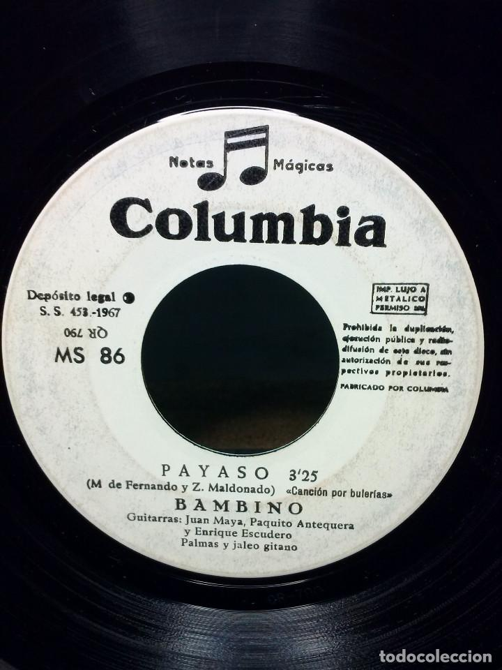 BAMBINOPAYASO (Música - Discos de Vinilo - Maxi Singles - Solistas Españoles de los 50 y 60)