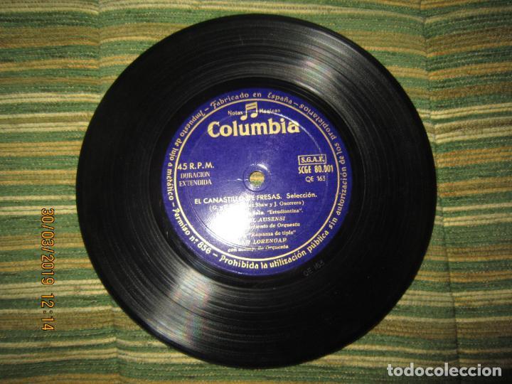 Discos de vinilo: PILAR LORENGAR - SELECCION DE ZARZUELAS Nº 1 EP - ORIGINAL ESPAÑOL - COLUMBIA 1953 MONO - Foto 4 - 157821274