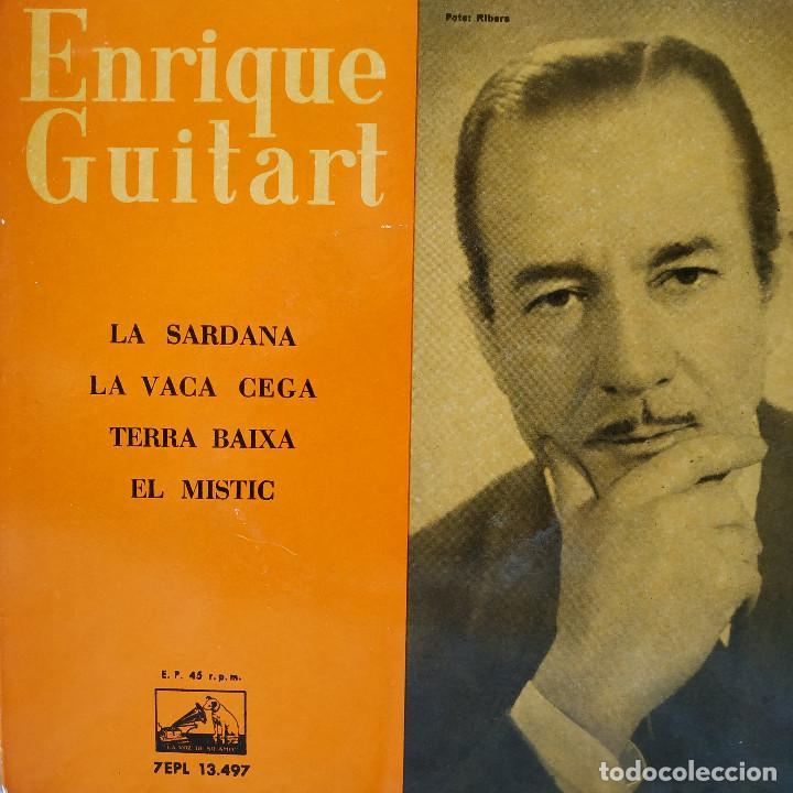 ENRIQUE GUITART - LA SARDANA / LA VACA CEGA / TERRA BAIXA / EL MISTIC - EP SPAIN DE 1960 VG++ / NM (Música - Discos de Vinilo - EPs - Étnicas y Músicas del Mundo)