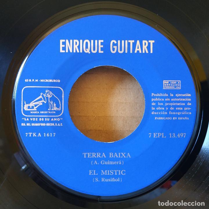 Discos de vinilo: ENRIQUE GUITART - LA SARDANA / LA VACA CEGA / TERRA BAIXA / EL MISTIC - EP SPAIN DE 1960 VG++ / NM - Foto 4 - 157832298