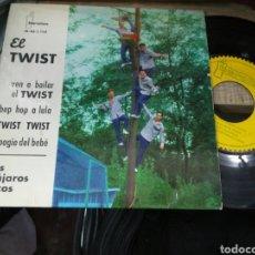 Discos de vinilo: LOS PAJAROS LOCOS EP EL TWIST 1961 /2. Lote 157841112