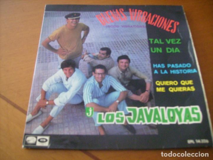 EP : LOS JAVALOYAS / BUENAS VIBRACIONES + 3 / LA VOZ DE SU AMO 1967 RARO EX (Música - Discos de Vinilo - EPs - Grupos Españoles 50 y 60)