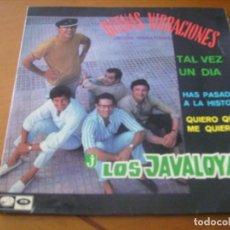 Discos de vinilo: EP : LOS JAVALOYAS / BUENAS VIBRACIONES + 3 / LA VOZ DE SU AMO 1967 RARO EX. Lote 157861514