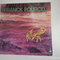 Discos de vinilo: FRANCK POURCEL ORCHESTRA - HI FI SOUND 79 (VINILO). Lote 157877358