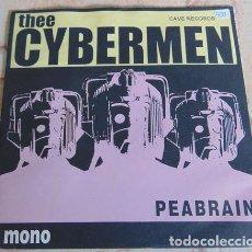 Discos de vinilo: THEE CYBERMEN – PEABRAIN - EP 1995. Lote 157882982