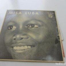 Discos de vinilo: MISA LUBA , JOACHIM NGOI Y LOS TROVADORES DEL REY BALDUINO VSD09. Lote 157886646