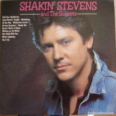 Discos de vinilo: SHAKIN´ STEVENS AND THE SUNSETS: SHAKIN´ STEVENS AND THE SUNSETS (ROCKIN´ AND SHAKIN´). Lote 157900002