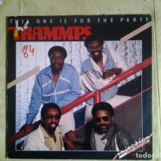 Discos de vinilo: THE TRAMMPS – THIS ONE IS FOR THE PARTY.ESTILO: SYNTH-POP, FUNK, DISCO. Lote 157903106