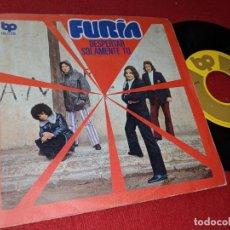 Discos de vinilo: FURIA DESPERTAR/SOLAMENTE TU 7 SINGLE 1972 BP BELTER. Lote 157906074