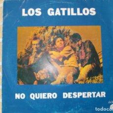 Discos de vinilo: LOS GATILLOS , SINGLE PROMOCIONAL. Lote 157906178