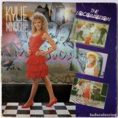 Discos de vinilo: KYLIE MINOGUE - THE LOCOMOTION - I'LL STILL BE LOVING YOU - SANNI RECORDS 1988 - ED. SPAIN ESPAÑA. Lote 157912478