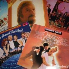 Discos de vinilo: JAMES LAST LOTE 5 LPS ORIGINALES VER FOTOS. Lote 157915918