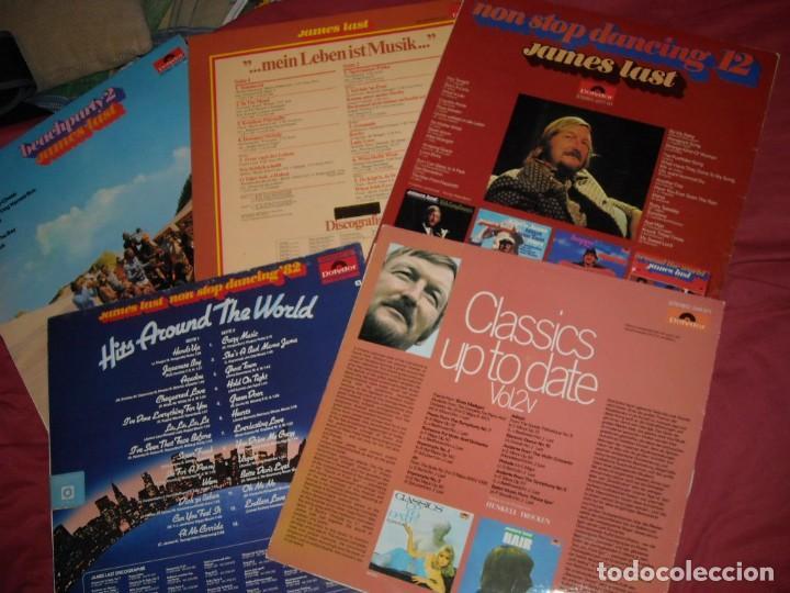 Discos de vinilo: JAMES LAST LOTE 5 LPS ORIGINALES VER FOTOS - Foto 2 - 157915918