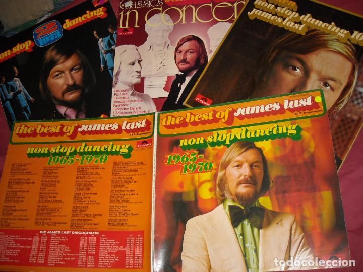 JAMES LAST LOTE 4 LPS ORIGINALES VER FOTO (Música - Discos - LP Vinilo - Orquestas)