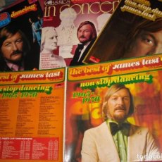 Discos de vinilo: JAMES LAST LOTE 4 LPS ORIGINALES VER FOTO. Lote 157916526