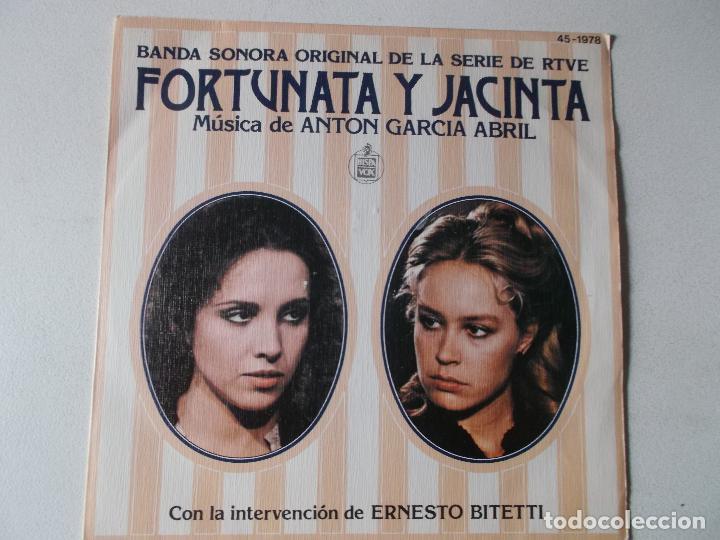 ANTÓN GARCÍA ABRIL – FORTUNATA Y JACINTA (BANDA SONORA ORIGINAL DE LA SERIE DE RTVE) (Música - Discos - Singles Vinilo - Bandas Sonoras y Actores)