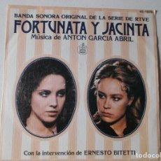 Discos de vinilo: ANTÓN GARCÍA ABRIL ?– FORTUNATA Y JACINTA (BANDA SONORA ORIGINAL DE LA SERIE DE RTVE). Lote 157916918
