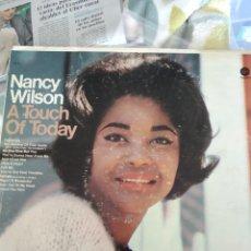 Discos de vinilo: NANCY WILSON - A TOUCH OF TODAY (CAPITOL RECORDS - T 2495, UK, 1966). Lote 144066334
