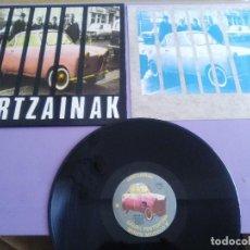 Discos de vinilo: LP. HERTZAINAK: AITORMENA / GAIZKI PENTSATZEN / MIREN MODELO B.. MAXI.+ENCARTE.OIHUKA,0.180.. Lote 157964186