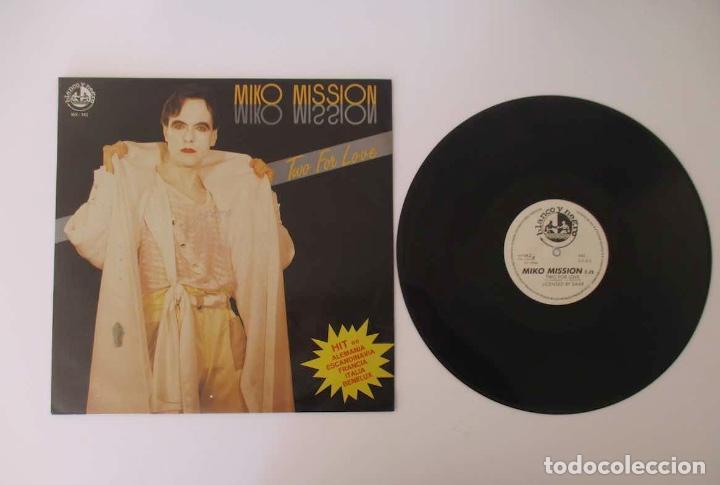 Discos de vinilo: DISCO LP MIKO MISION - TWO FOR LOVE - Foto 2 - 157990306