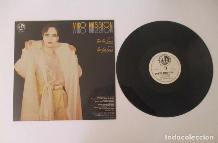 Discos de vinilo: DISCO LP MIKO MISION - TWO FOR LOVE - Foto 3 - 157990306