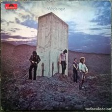 Discos de vinilo: THE WHO. WHO'S NEXT. POLYDOR, GERMANY 1971 LP ORIGINAL 2408 102. Lote 158013118