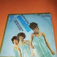 Discos de vinilo: MARTHA & THE VANDELLAS - ABANDONA MI CORAZON /DAME UNA SOLUCION . 1967. . Lote 158017078