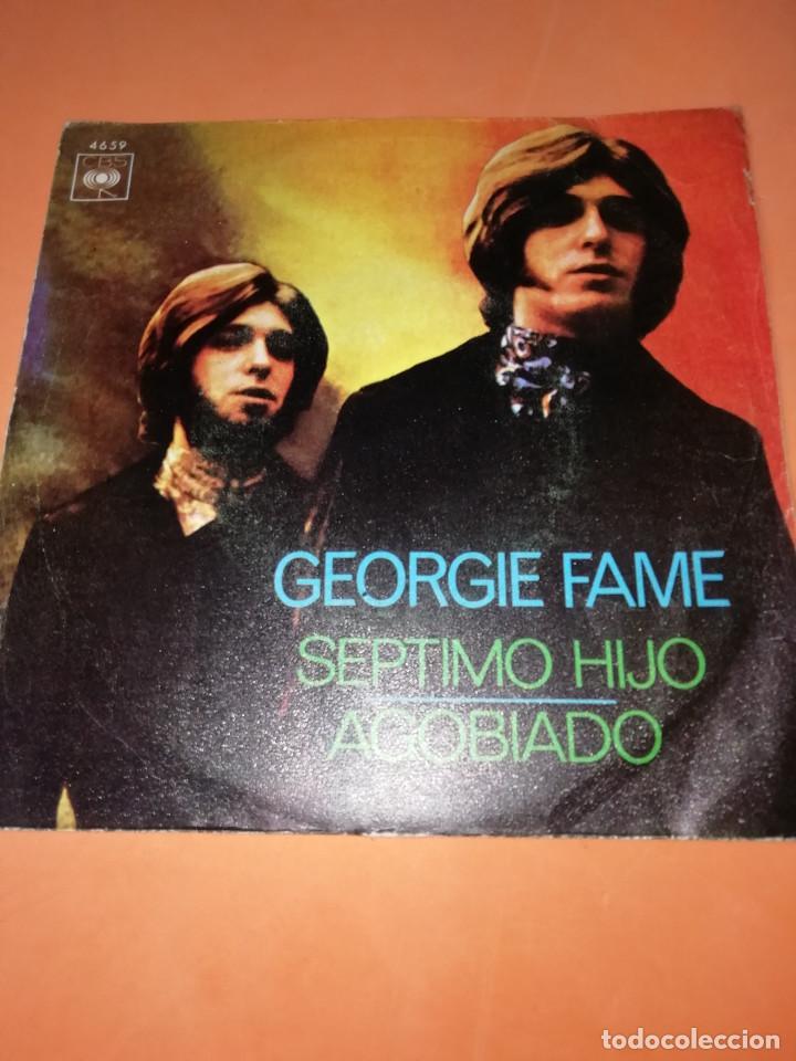 GEORGIE FAME / SEPTIMO HIJO / AGOBIADO (SINGLE 1970) CBS (Música - Discos - Singles Vinilo - Pop - Rock - Extranjero de los 70)