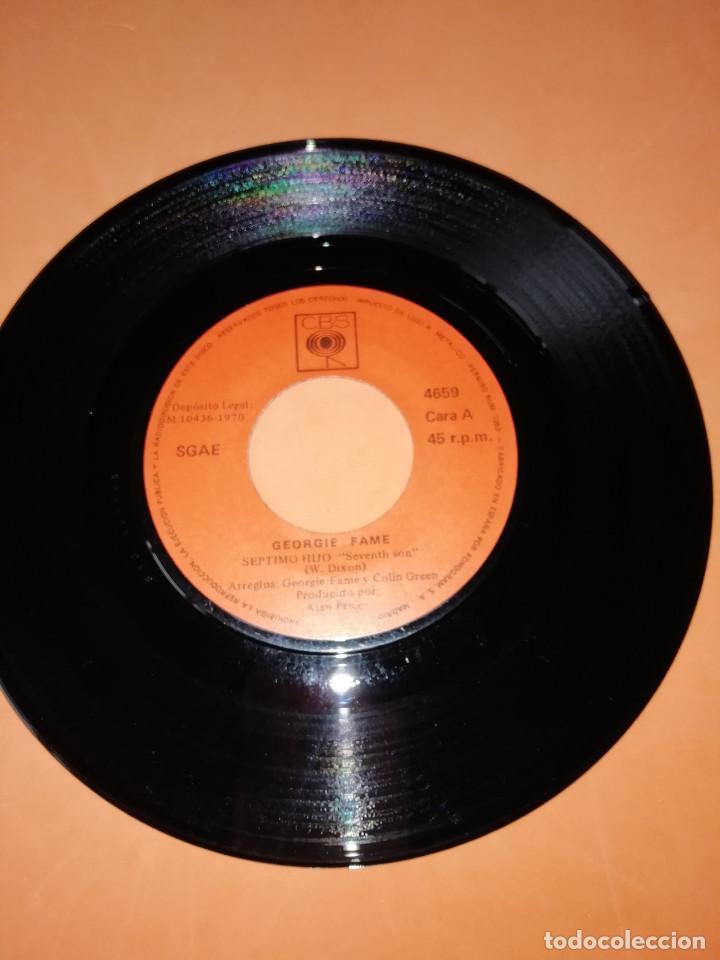 Discos de vinilo: GEORGIE FAME / SEPTIMO HIJO / AGOBIADO (SINGLE 1970) CBS - Foto 3 - 158017710