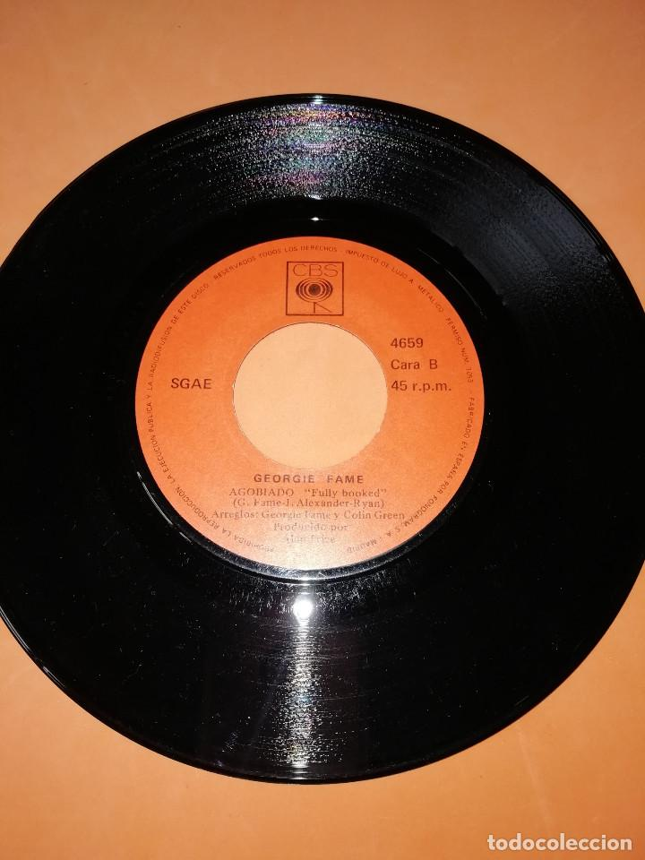 Discos de vinilo: GEORGIE FAME / SEPTIMO HIJO / AGOBIADO (SINGLE 1970) CBS - Foto 5 - 158017710