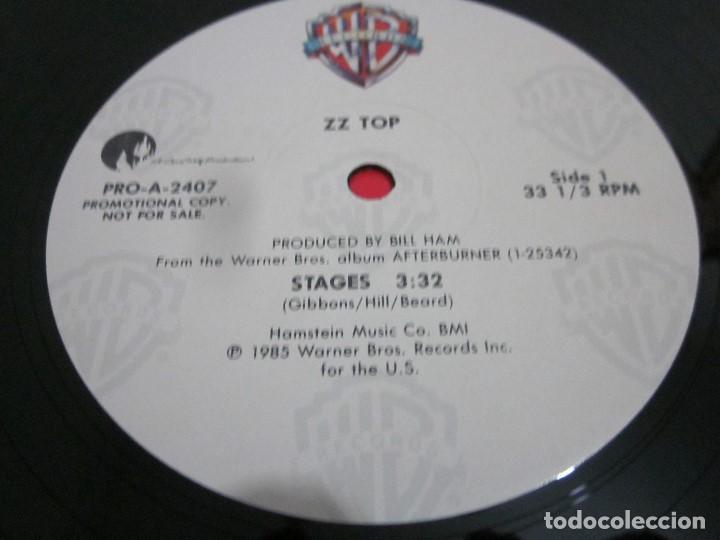 Discos de vinilo: ZZ TOP - STAGES - MAXI PROMOCIONAL EDICION USA DEL AÑO 1985. - Foto 2 - 158018202