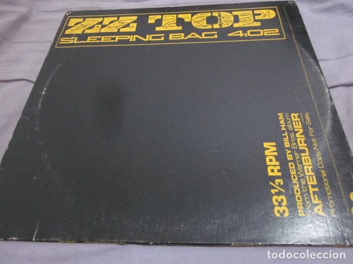 ZZ TOP - SLEEPING BAG - MAXI PROMOCIONAL EDICION USA DEL AÑO 1985. (Música - Discos de Vinilo - Maxi Singles - Heavy - Metal)
