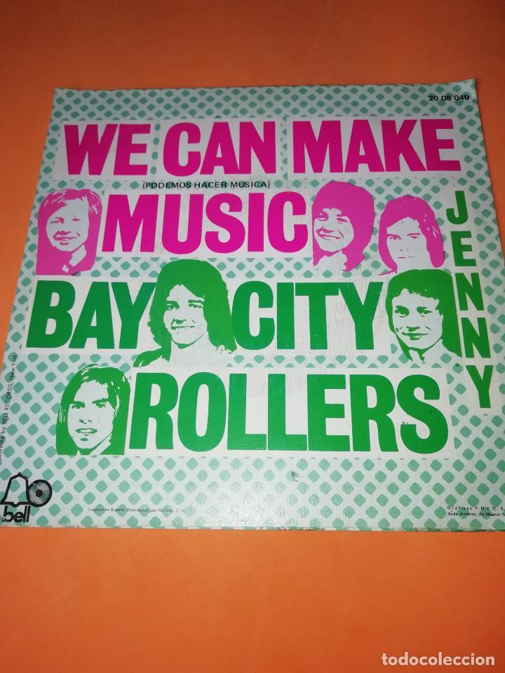 Discos de vinilo: BAY CITY ROLLERS - WE CAN MAKE MUSIC - JENNY - SG SPAIN 1972 - Foto 2 - 158021010