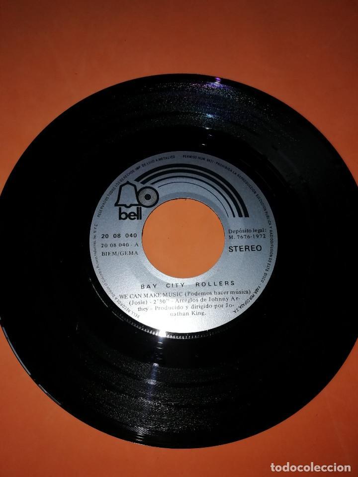 Discos de vinilo: BAY CITY ROLLERS - WE CAN MAKE MUSIC - JENNY - SG SPAIN 1972 - Foto 3 - 158021010