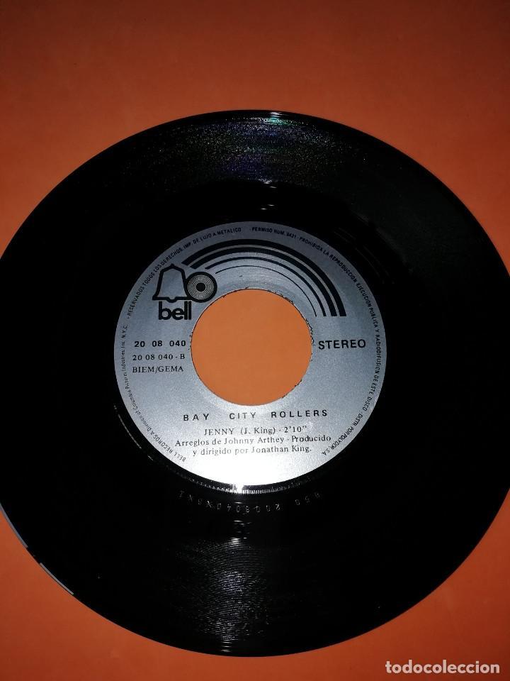 Discos de vinilo: BAY CITY ROLLERS - WE CAN MAKE MUSIC - JENNY - SG SPAIN 1972 - Foto 5 - 158021010