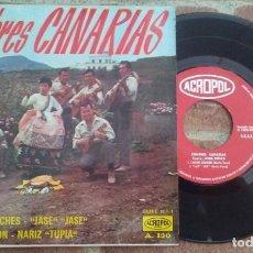 Discos de vinilo: CUMBRES CANARIAS NINA ROJAS CUMBRES GUANCHES+3 EP ACROPOL 1968. Lote 159058916