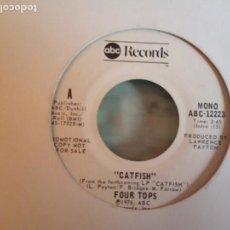 Discos de vinilo: FOUR TOPS CATFISH DISCO PROMO ORIGINAL USA 1976 VG+. Lote 158131506