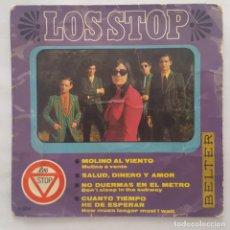 Discos de vinilo: EP / LOS STOP / SALUD, DINERO Y AMOR +3 / 1967. Lote 158133890