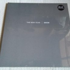 Discos de vinilo: THE NEW YEAR - '' SNOW '' LP WHITE VINYL + CD 2017 GERMANY SEALED. Lote 141683850