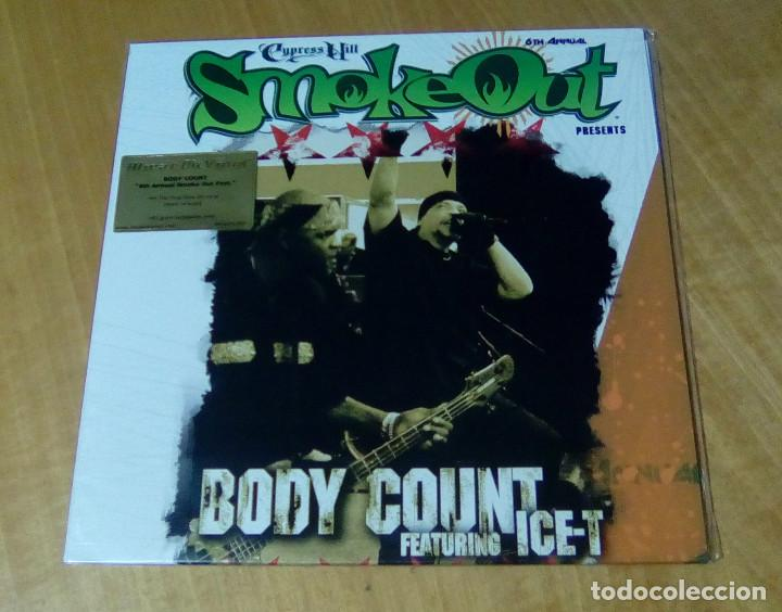 BODY COUNT FEATURING ICE-T - SMOKEOUT FESTIVAL PRESENTS (LP 2015, MUSIC ON VINYL MOVLP1365) PRECINT (Música - Discos - LP Vinilo - Rap / Hip Hop)