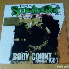 Discos de vinilo: BODY COUNT FEATURING ICE-T - SMOKEOUT FESTIVAL PRESENTS (LP 2015, MUSIC ON VINYL MOVLP1365) PRECINT. Lote 158141958