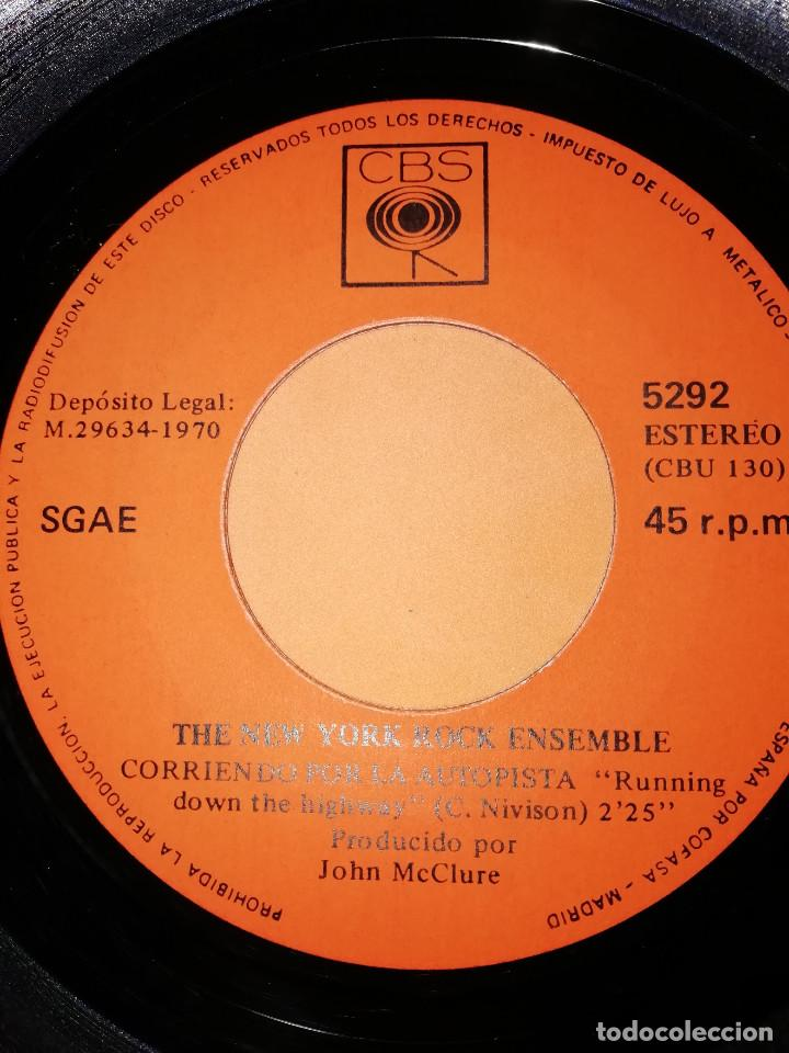 Discos de vinilo: THE NEW YORK ROCK ENSEMBLE . CORRIENDO POR LA AUTOPISTA . CBS 1970 - Foto 4 - 158145358
