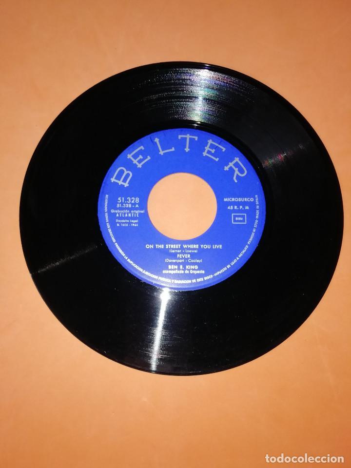 Discos de vinilo: BEN E KING: FEVER + AT LAST + MOON RIVER +1. BELTER 1964 - Foto 3 - 158146506