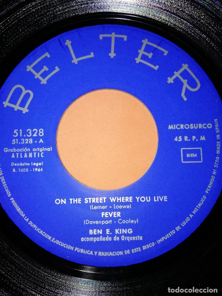 Discos de vinilo: BEN E KING: FEVER + AT LAST + MOON RIVER +1. BELTER 1964 - Foto 4 - 158146506