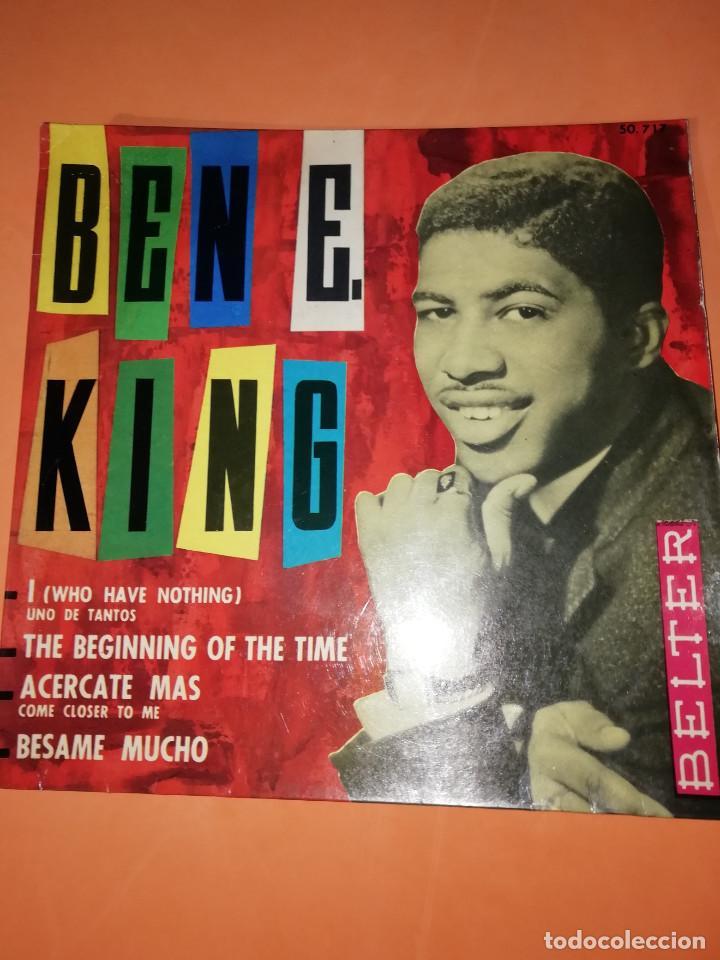 BEN E KING: I ( WHO HAVE NOTHING) .UNO DE TANTOS. BELTER. 1963. (Música - Discos - Singles Vinilo - Funk, Soul y Black Music)