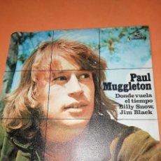 Discos de vinilo: PAUL MUGGLETON - DONDE VUELA EL TIEMPO. COLUMBIA. 1970. Lote 158149550